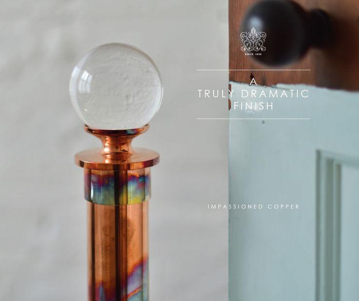 17 best ideas about Copper Curtain Pole on Pinterest | Diy curtain ...