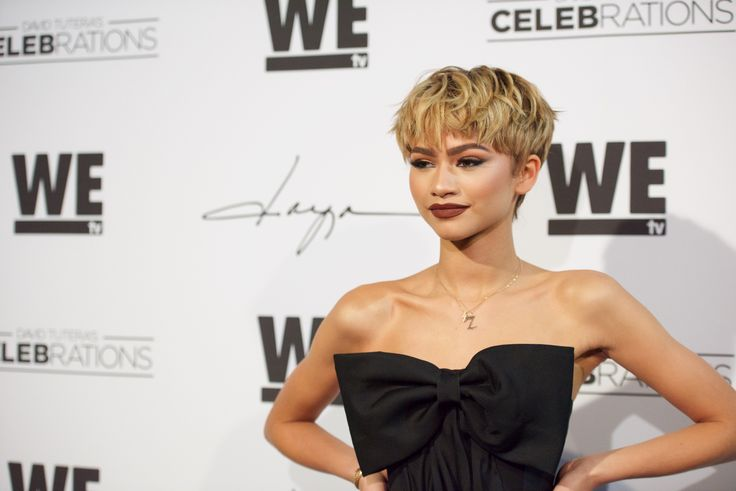 Zendaya's Blonde Pixie Cut Is the Short Hairstyle Inspiration You Need