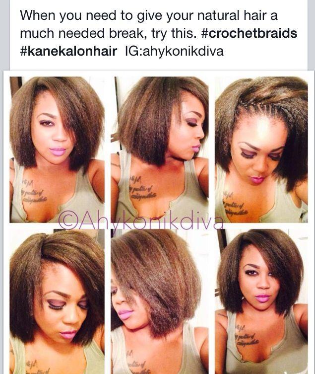 Natural Looking Crotchet Braids @ahykonikdiva - http://www.blackhairinformation.com/community/hairstyle-gallery/braids-twists/natural-looking-crotchet-braids-ahykonikdiva/ #braidsandtwists