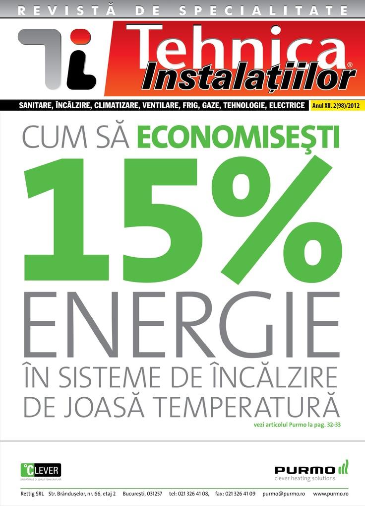 Revista Tehnica Instalatiilor nr. 02_98_2012