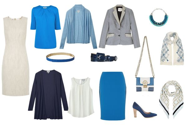 Business Travel Capsule Wardrobe, the rest of the 12 pieces including the top and skirt from Outfit 2.