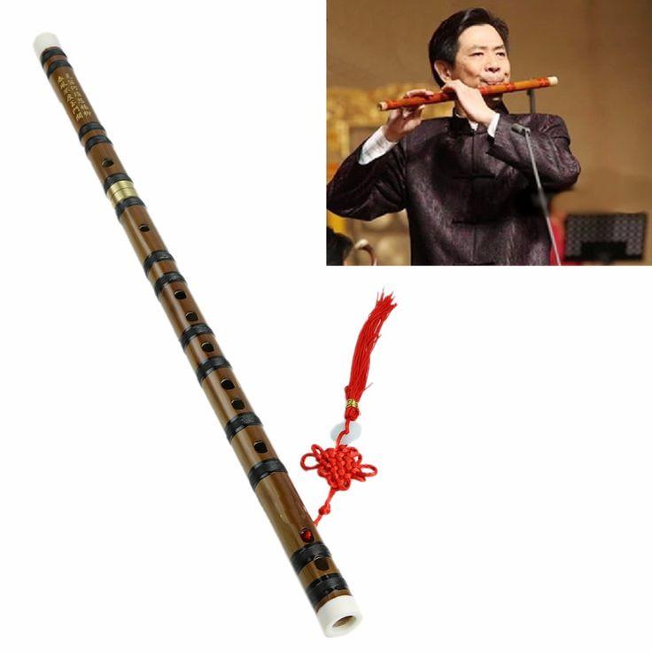 Baru Cina Tradisional Alat Musik Buatan Tangan Bambu Flute dalam Kunci D