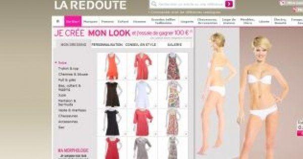 Mode : un mannequin virtuel La Redoute pour créer son look - Cosmopolitan.fr