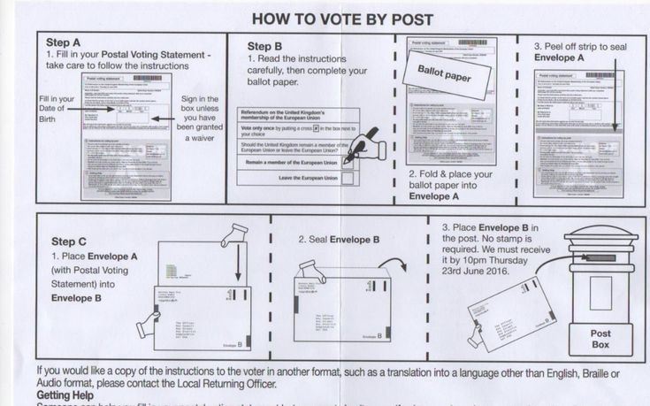 Voters in the EU referendum 'told to vote for Remain in postal vote guide', prompting protests from Brexiteers