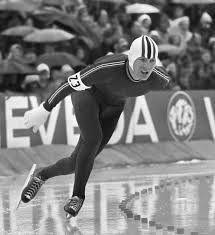 Speed skater Sten Stensen.  A tough hombre I followed as a teenager.