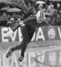 Speed skater Sten Stensen.  A tough hombre I followed as a teenager.