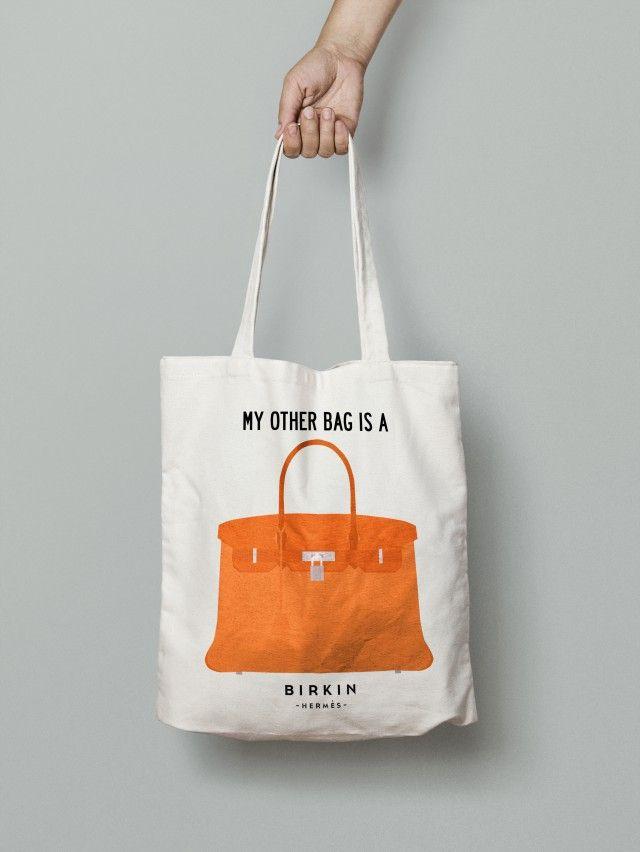 Tote Bag Hermès Birkin Bag. - I Love Design