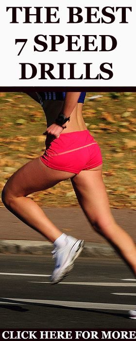 These 7 speed drills will help you run faster and become the best and the fastest runner you can be: http://www.runnersblueprint.com/speed-drills-run-faster/ #Running #Speed #Drills