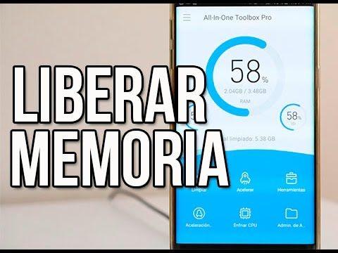 COMO LIBERAR Memoria interna + Acelerar Android al 100% - YouTube