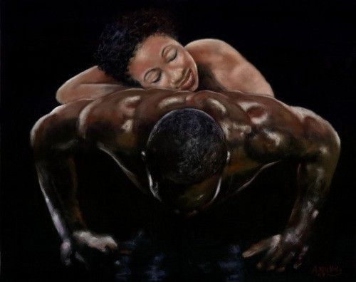 Relax, I Got You by Andrew Nichols | The Black Art Depot