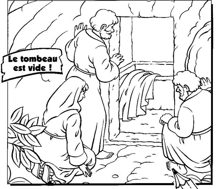 99 best risurrezione di gesù ed apparizioni images on pinterest - Jesus Resurrection Coloring Pages