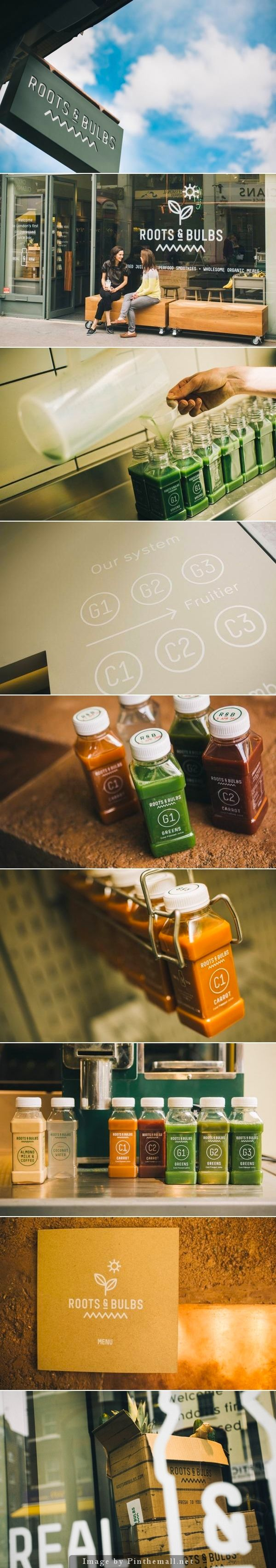 branding / Identity | Root Bulbs #branding #packaging #juice