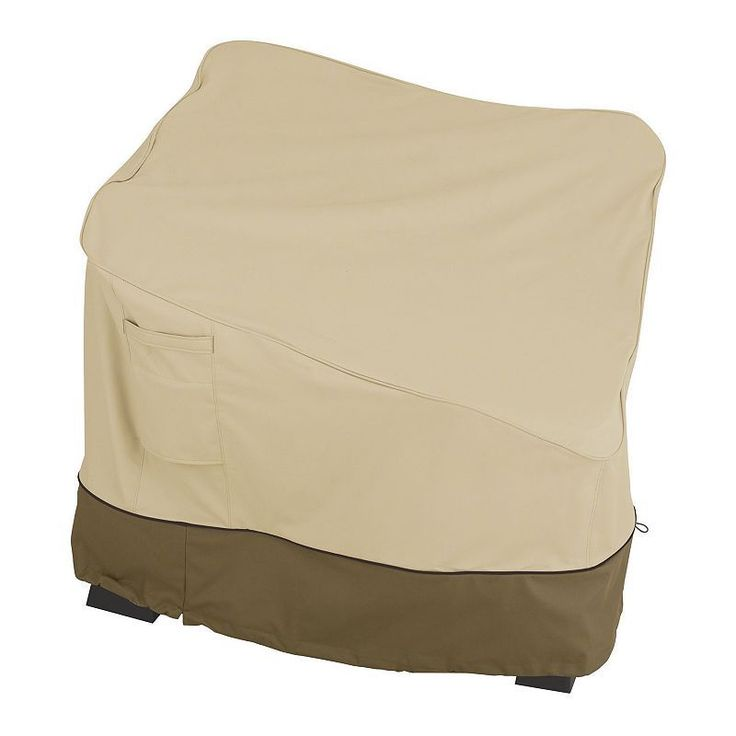 Outdoor Classic Accessories Veranda Patio Sectional Cover, Beig/Green (Beig/Khaki)