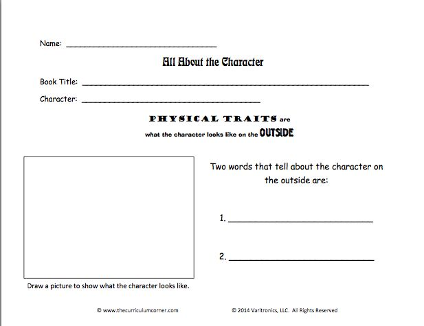 60 best Character Unit images on Pinterest Character setting - character analysis template