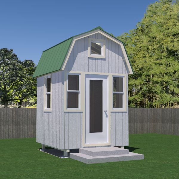 499 best tiny houses vol ii images on pinterest tiny for Small gambrel house plans