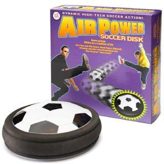 Air Power Soccer : jouer au foot dans la maison devient autorisé !Idées de cadeaux insolites et originaux sur Cadeaux 2 Ouf !.: Air Power Soccer : jouer au foot dans la maison devient autorisé !