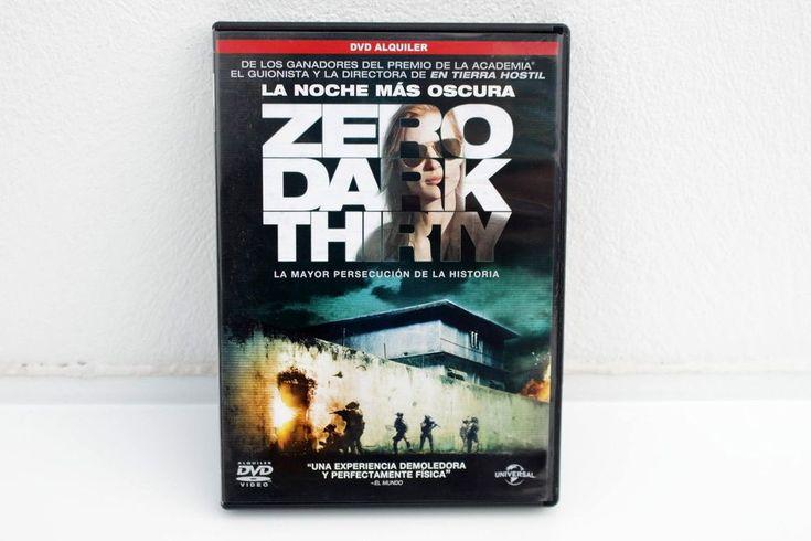 LA NOCHE MÁS OSCURA ( ZERO DARK THIRTY ) - KATHRYN BIGELOW -DVD EDICIÓN ALQUILER