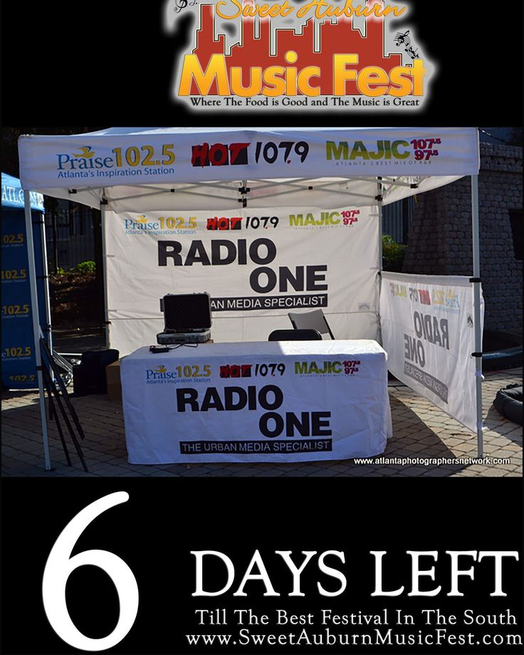 6 More Days till the best festival in the Atl! Something there for everyone in the Family! Hope to see you there! @sweetauburnmusicfest  #sweetauburnmusicfest #samusicfest #samusicfest2017 #Atlanta #picoftheday #1 #hiphop #randb #musicians #music #soul #jazz #gospel #fest #festival #auburnave #edgewood #4thward #history #vendors #food #international #Georgia #family #friends #people #goodfoodgreatmusic @MAJICATL @Praise1025