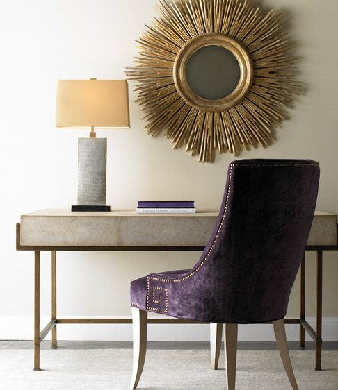 Newest Additions to Lillian August Fine Furnishings - How cool is this desk?