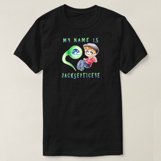 My Name Is Jacksepticeye Custom Shirts