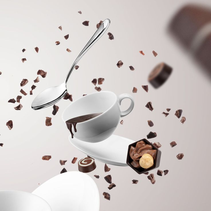 Lux Photodigital for Hotel Chocolat- Product Photography Studio, London. Food Photography, Chocolate, Floating.