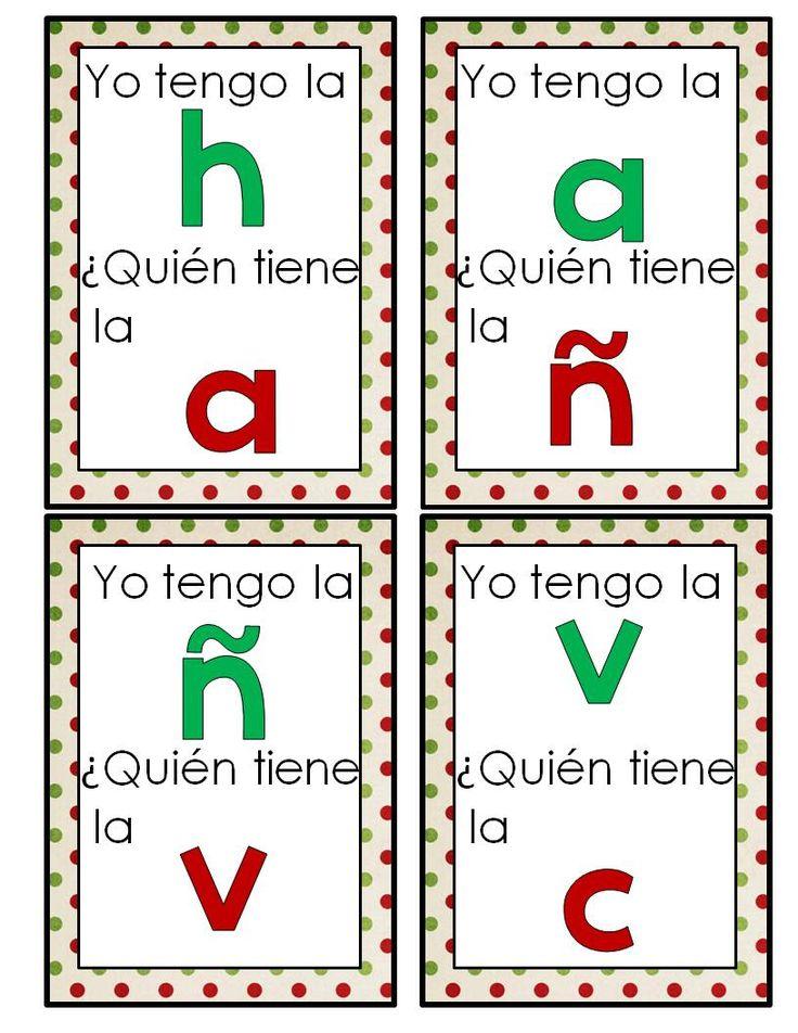 Spanish Alphabet - Spanish4Teachers.org