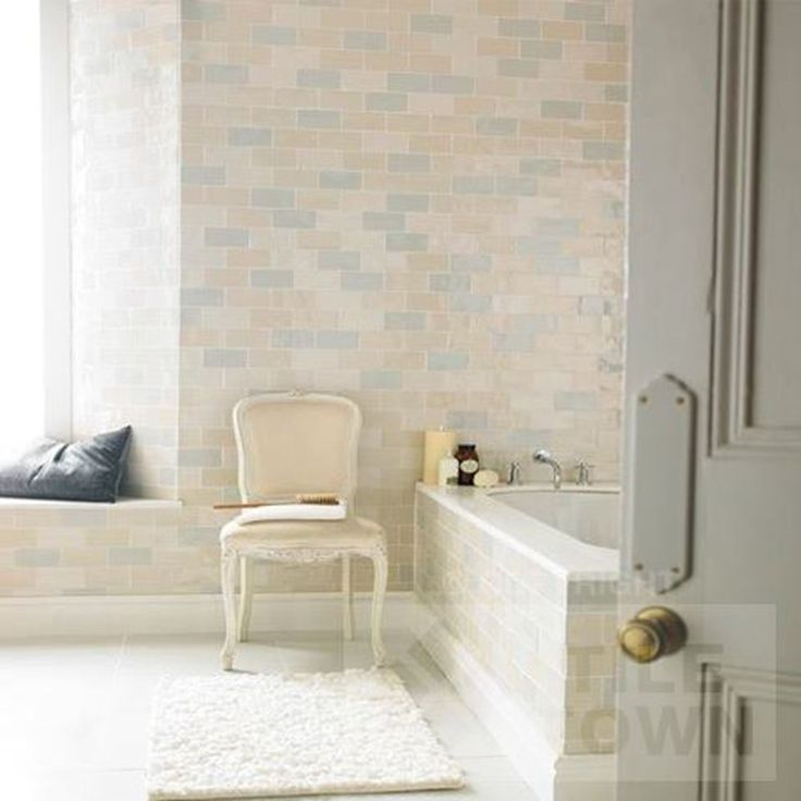 Craquele Mix Bathroom Wall Tiles By Cevica (tile Factory) Supplied By Tile  Town.