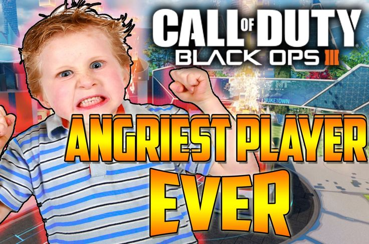 ANGRIEST BLACK OPS 3 PLAYER EVER !! Funnny Rage Montage
