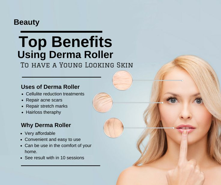 Top Benefits Using Derma Roller To Have Young Looking Skin.  ✧ Better results than laser resurfacing, fraxel and chemical peels ✧ Stimulate the production of new collagen and elastin which will help rejuvenate tired, flagging skin or repair acne scars and stretch marks. ✧ Can be use in the comfort of your home. ✧ Good combination of hairloss therapy  ✧ cellulite reduction treatments. See result in just few weeks! http://derma-logi.com/collections/product/products/derma-roller-0-5