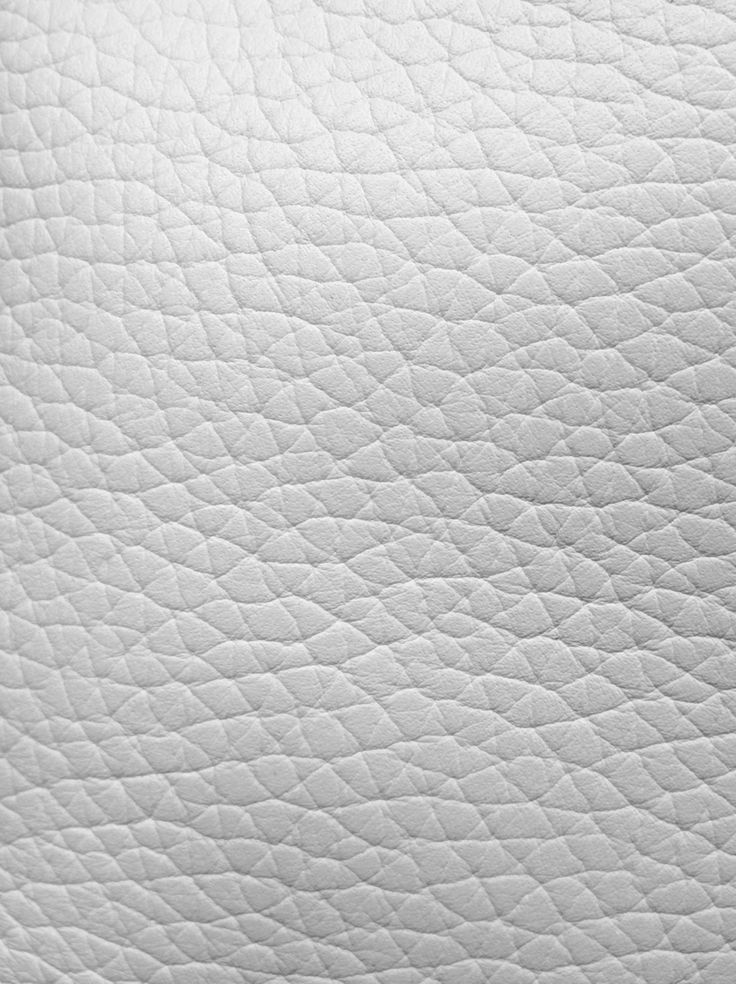 Texture We Love White Leather