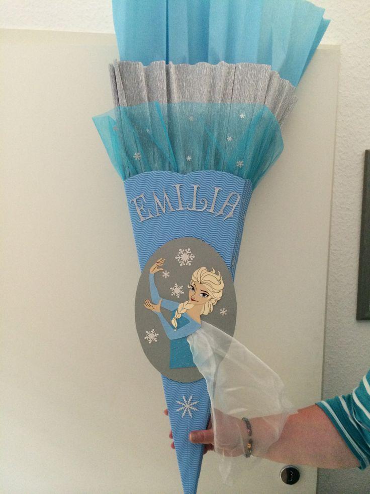 Schultüte mit Elsa aus Disneys Eiskönigin