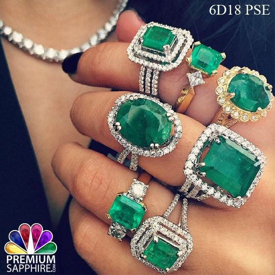 Adorn this stylish emerald stone rings to get the astrological benefits in a right appropriate method @ http://www.premiumsapphire.com/blog/wearing-methods-emerald-panna-gemstone/