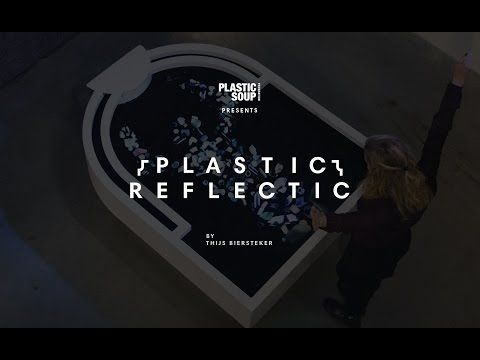 Plastic Reflectic interactive installation for plastic soup foundation - YouTube