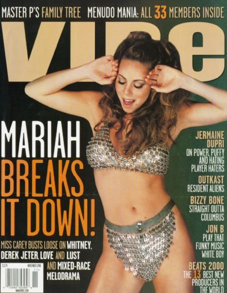 mariah carey magazine covers | ... Mariah Carey on the covers of Vibe Magazine... - Mariah Carey - Zimbio