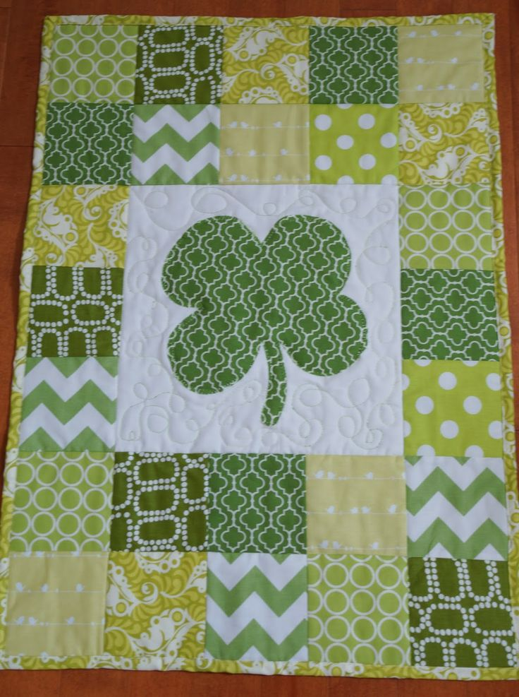 St Patrick S Day Wall Hanging Quilted Wall Hangings