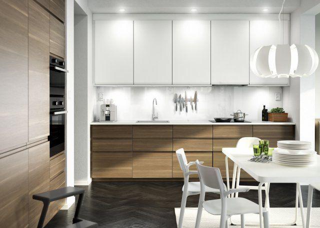 Meubles de Cuisine Meuble Cuisine Blanc Laqué Ikea-Photo cuisine