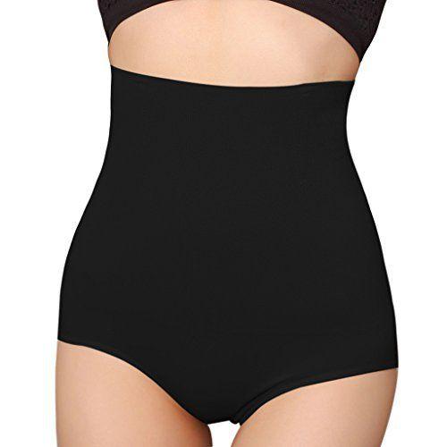 iLoveSIA® Femme culotte gainante taille haute Panty Minceur Avec Armature Body Gaine Amincissante Ventre Plat: NOTE: Si vous êtes entre…