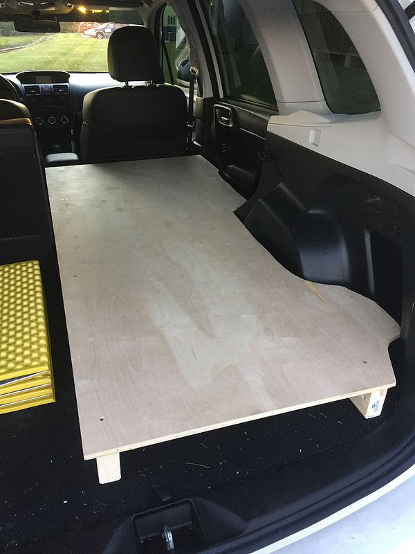 Minivan Camper Conversion >> Subaru Forester Owners Forum - View Single Post - sleeping in the back (merged thread) | car ...
