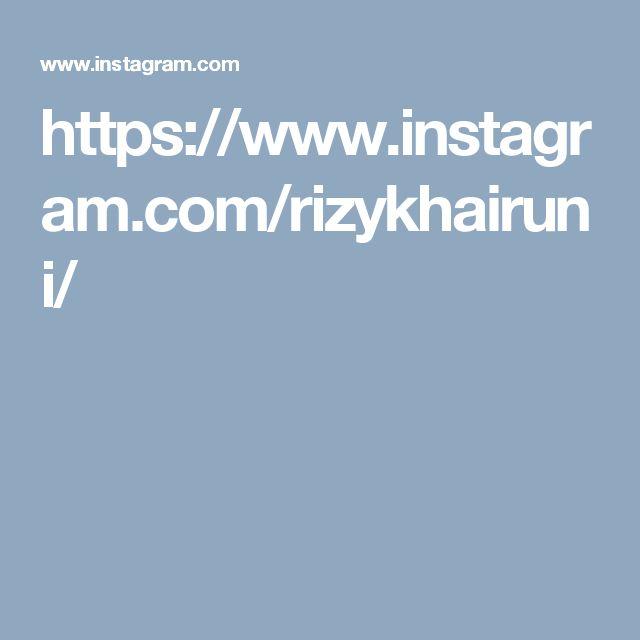 https://www.instagram.com/rizykhairuni/