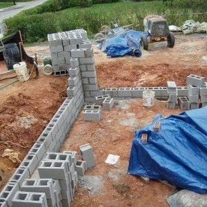 model e11 how to cover concrete block fence concrete block or precast concrete fence block. Black Bedroom Furniture Sets. Home Design Ideas