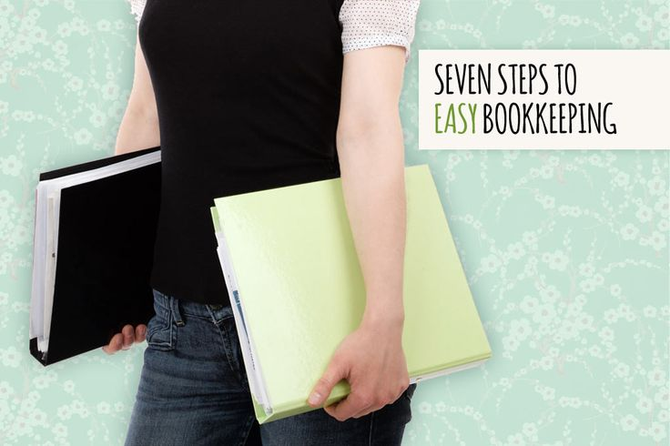 Seven steps to easy bookkeeping (and no more lost receipts)! | Talented Ladies Club