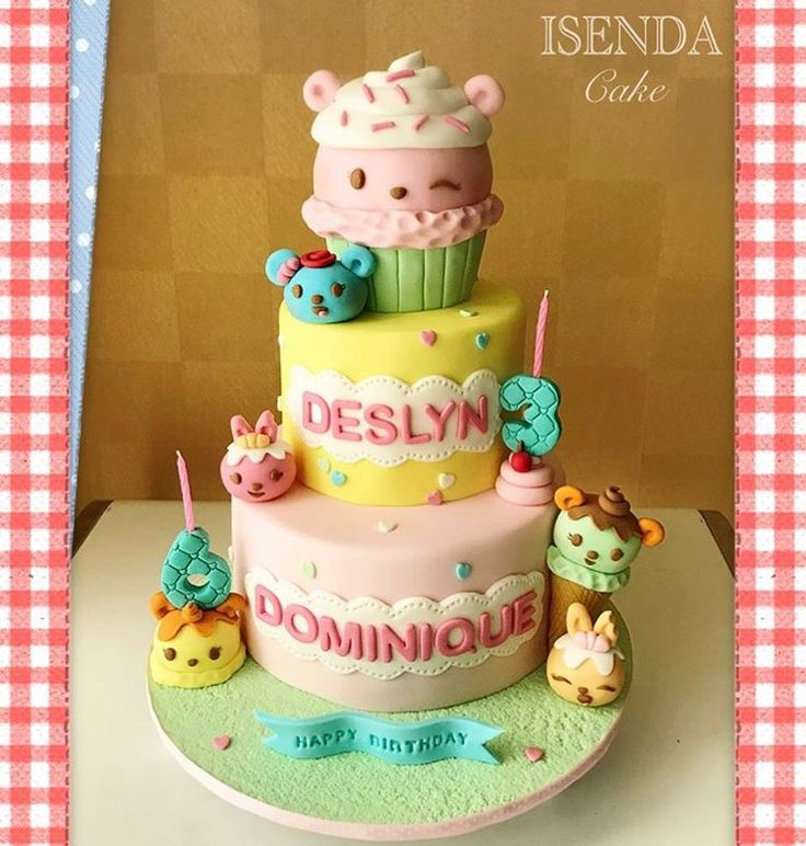 Happy Birthday Dominique  Deslyn  May you two always be happy, cute, smart and adorable little girls  #numnoms #numnomscake