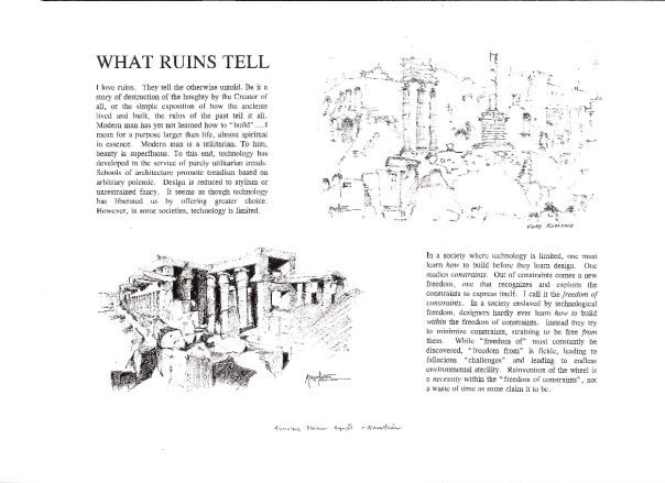 THE STORY OF RUINS