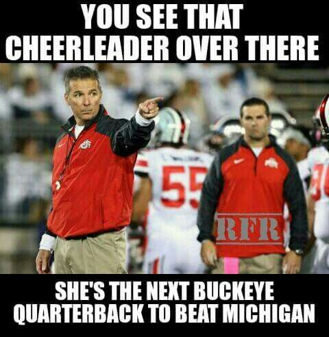 dee95123e060f19a15efca30ebf9b3e1 buckeyes football ohio state football 59 best michigan sucks!! images on pinterest ohio state buckeyes,Michigan Memes