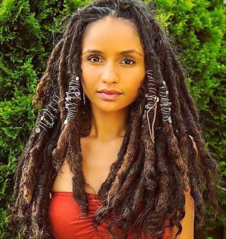 Natural Hair Dreads Black Women