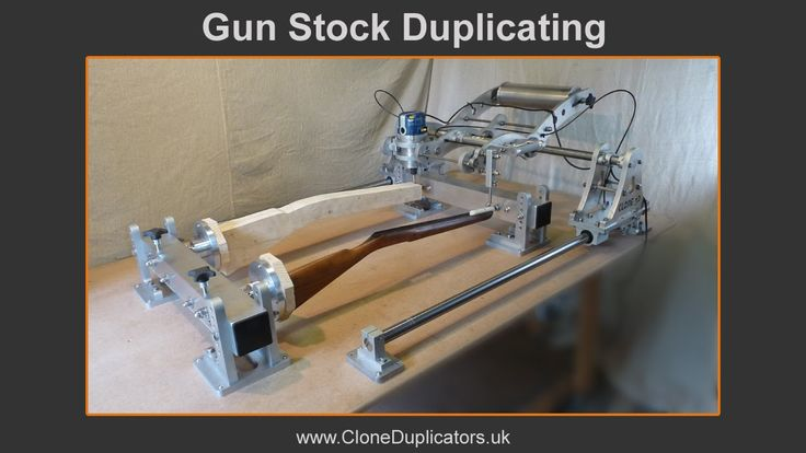 gun stock duplicating machine