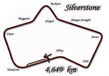 Grand Prix de Grande Bretagne 1950-Tracé de la course Le Grand Prix automobile de Grande-Bretagne 1950 (IIIrd British Grand Prix ou The Royal Automobile Club Grand Prix of Europe), disputé le 13 mai 1950 sur le circuit de Silverstone (Northamptonshire), est la première épreuve du championnat du monde de Formule 1. Il est également dénommé Grand Prix d'Europe 1950-1.