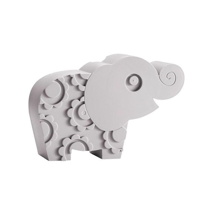 Blafre broodtrommel in de vorm van een olifant. Kijk voor deze grappige grijze lunchbox of een ander retro cadeautje van Blafre in onze webshop!