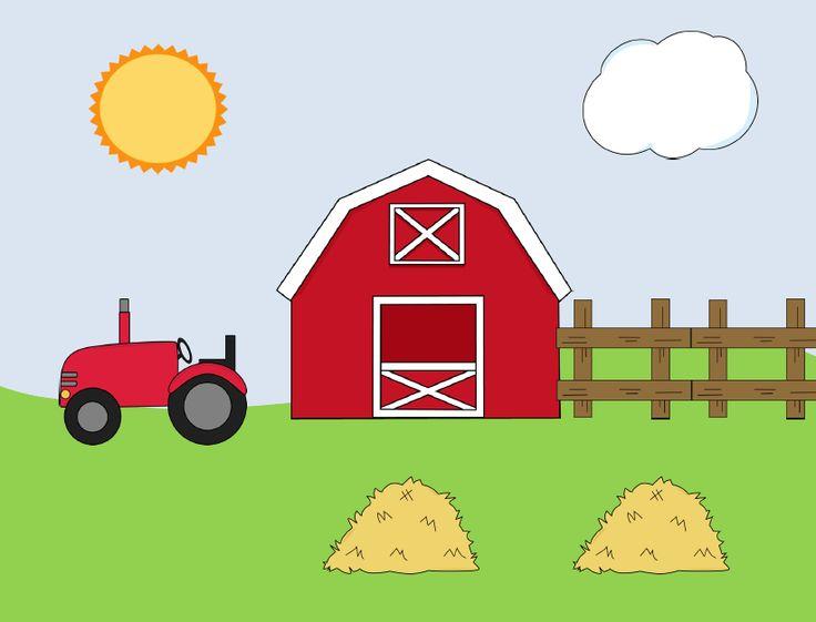 Farm scene   Farm animals theme home tot preschool   Pinterest Clip Art Pictures Of Farm Houses