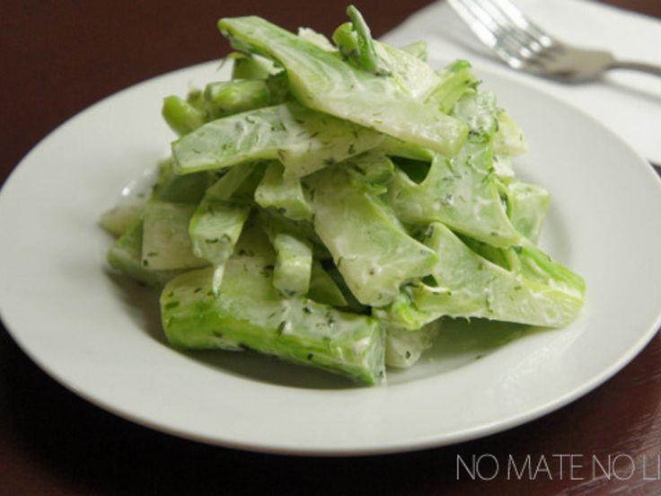 捨てちゃうのはもったいない!ブロッコリーの茎ノリマヨ和え by ATUYAさん | レシピブログ - 料理ブログのレシピ満載!